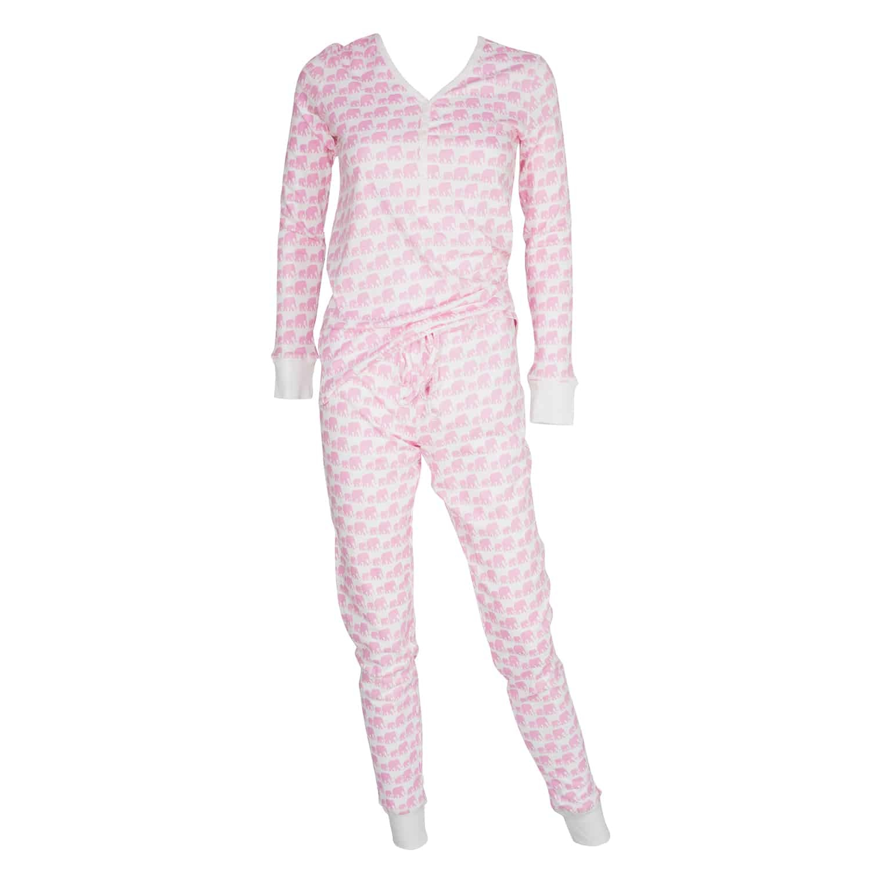 Women's Jogger/Henley Pajama Set