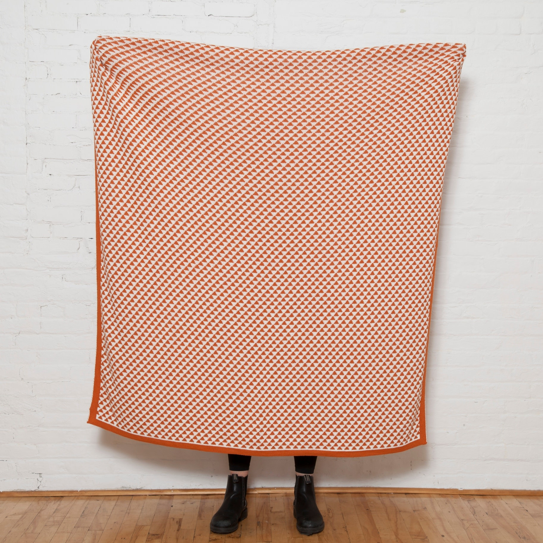 Eco Repeating Triangles Reversible Throw
