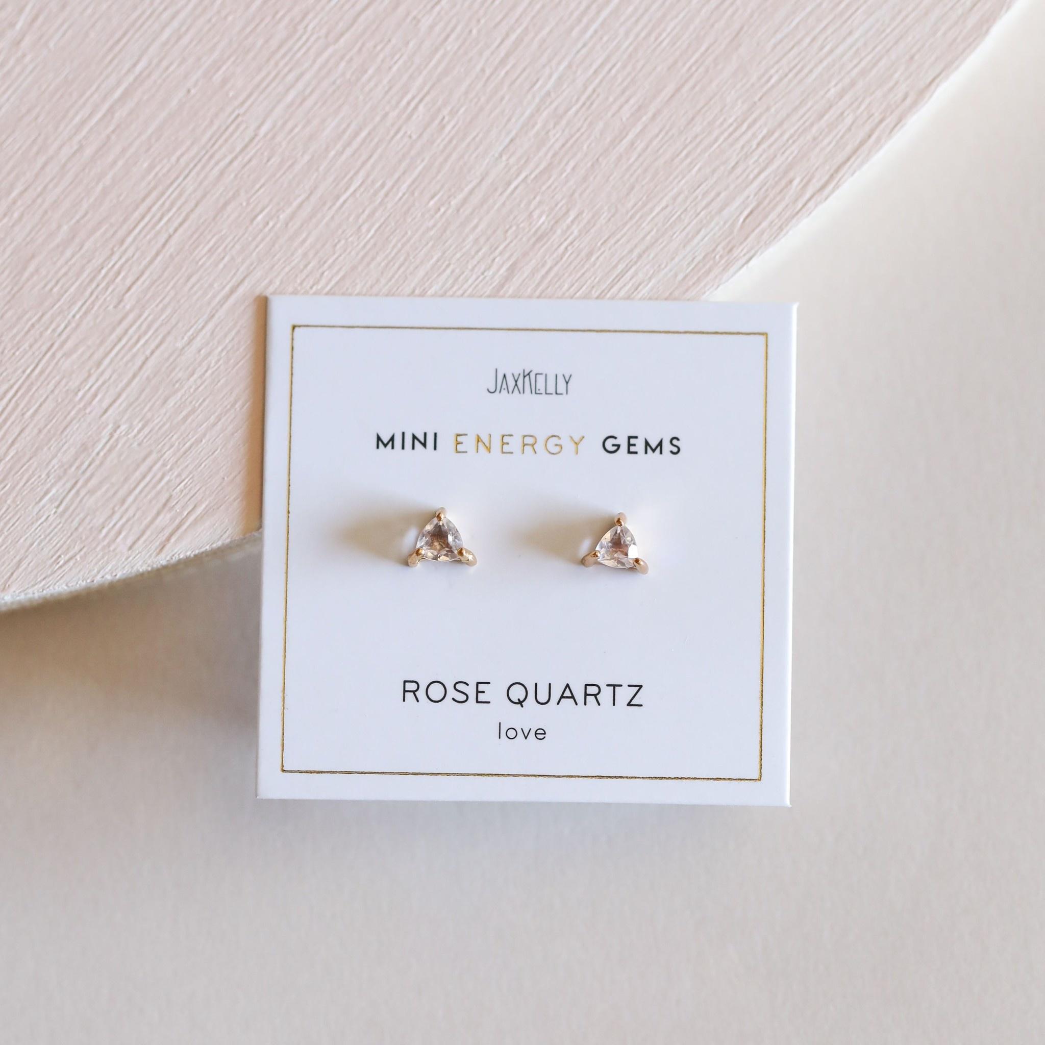 Mini Energy Gem Earrings