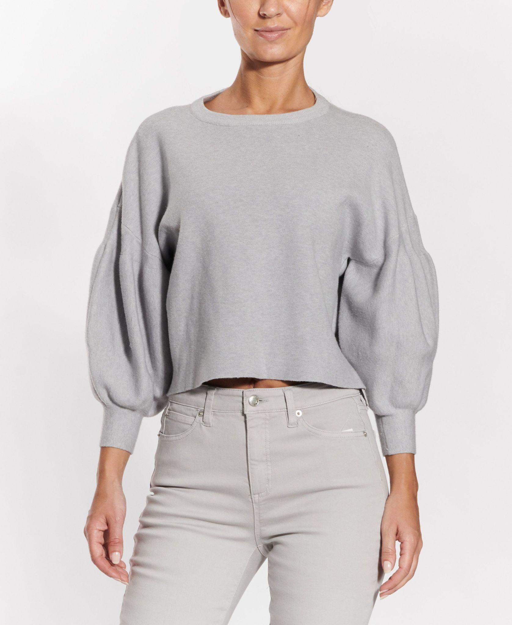 Balloon Sleeved Sweater