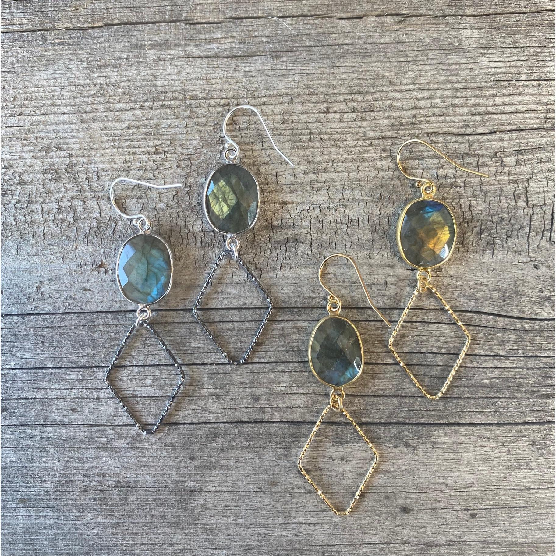 Jenny Earrings-Silver