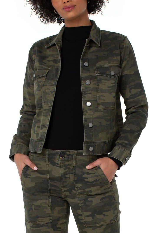 Jacket W/Patch Pockets