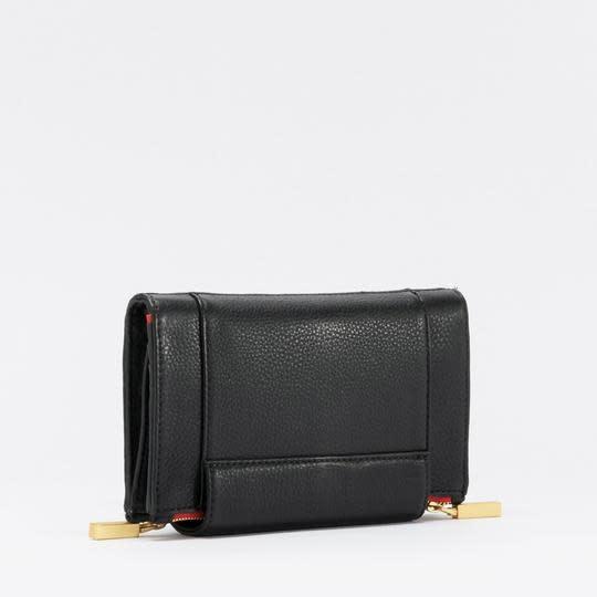 Levy Black BG Red Zip
