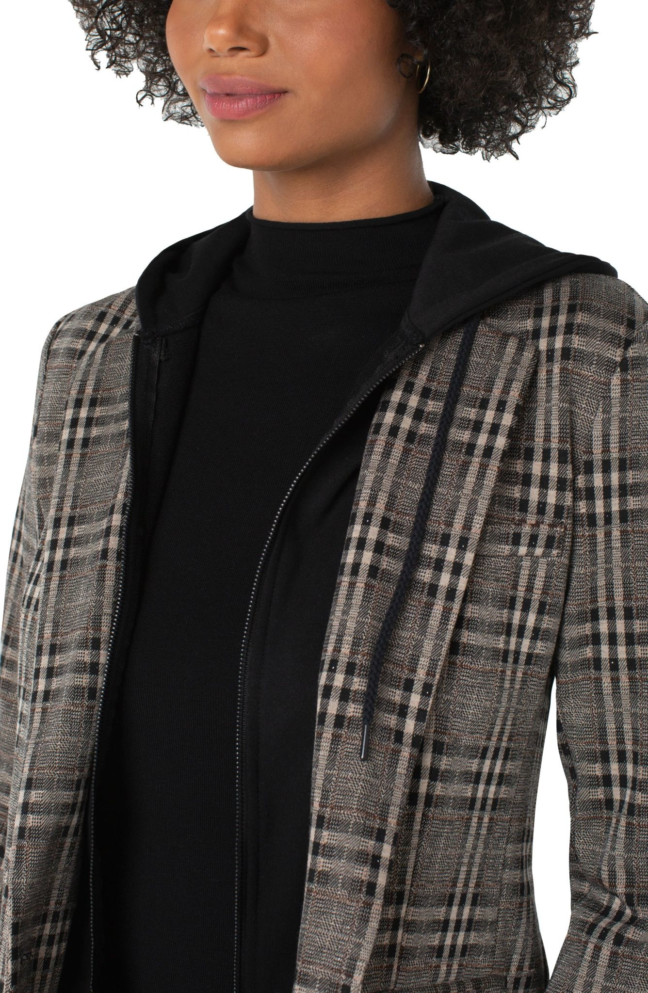 Boyfriend Blazer w/ Removable Hood