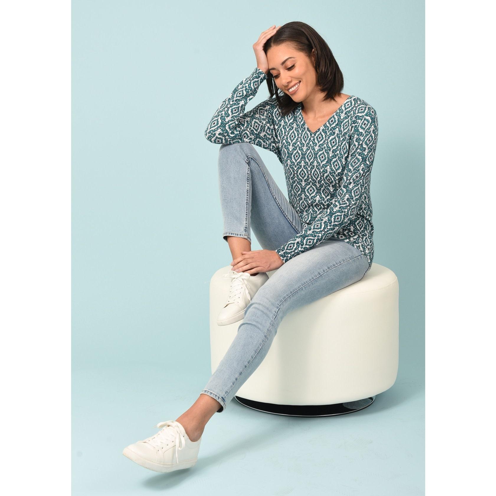 Melanie V-Neck Sweater