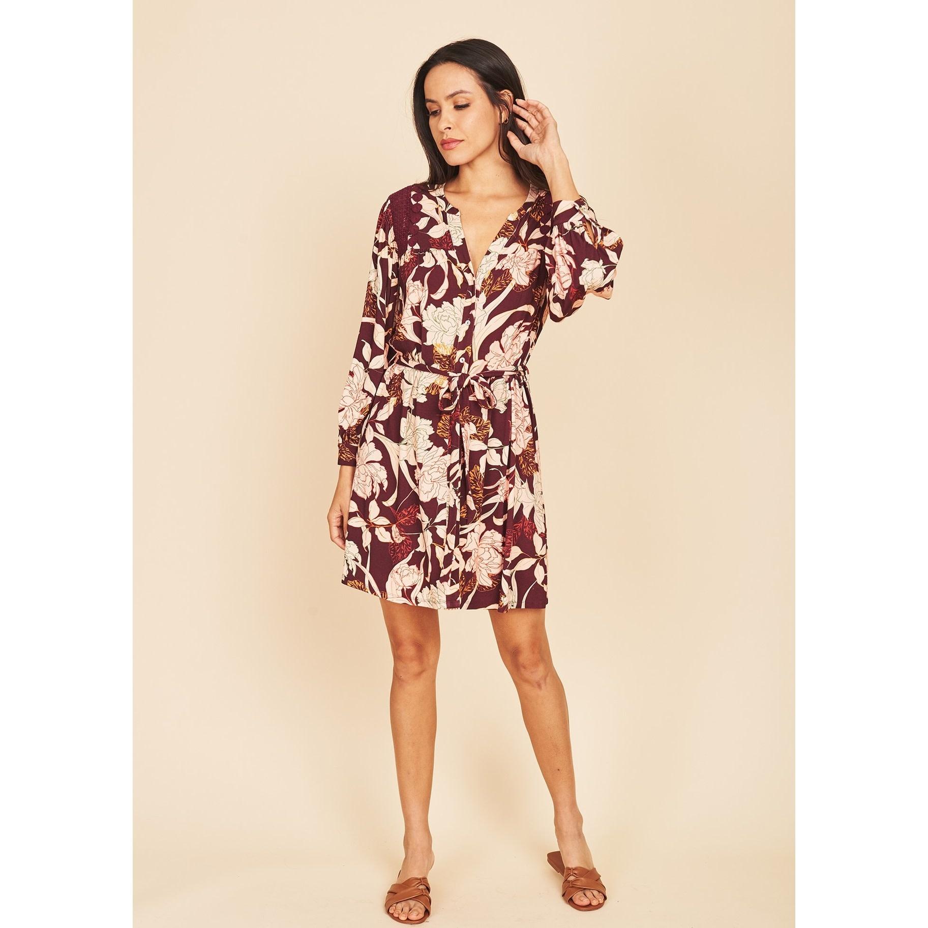 Christine Button Down Dress
