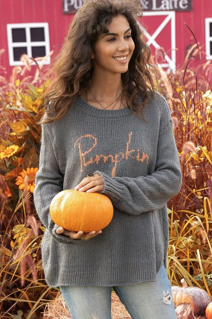 Pumpkin Crew Sweater
