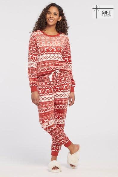 2 Piece Sherpa Pajama Set