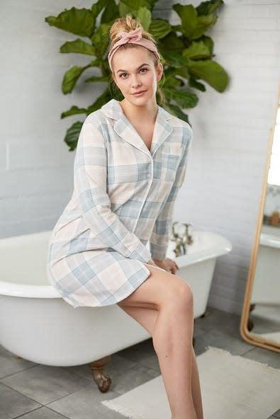 Flannel Night Shirt