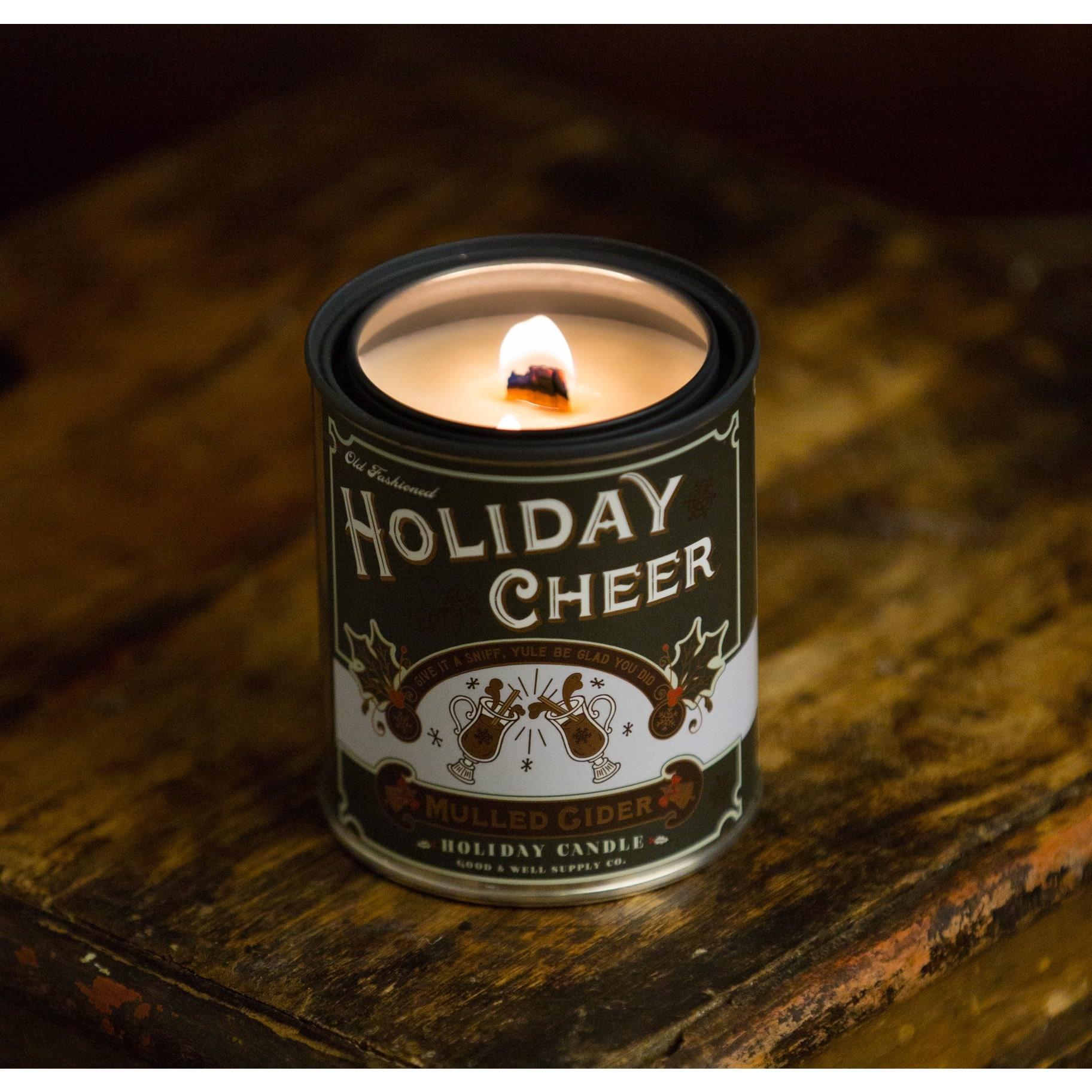 Holiday Cheer 1/2 Pint Candle