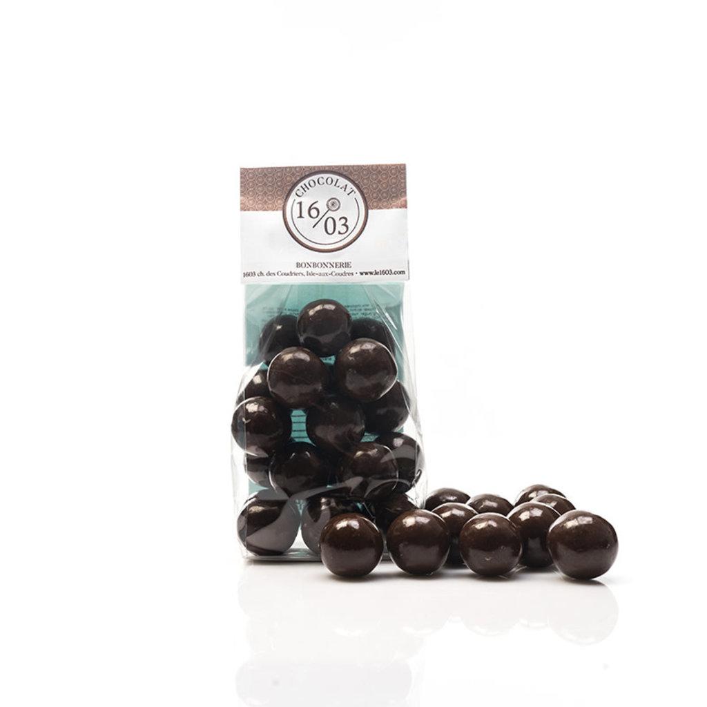 Le 1603 Boules maltées chocolat au lait 200g