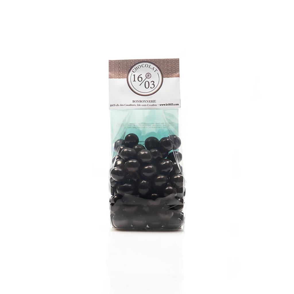 Le 1603 Dark Chocolate Blueberries 225g