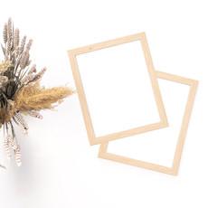 Le 1603 Cadre en bois naturel 8 x 10