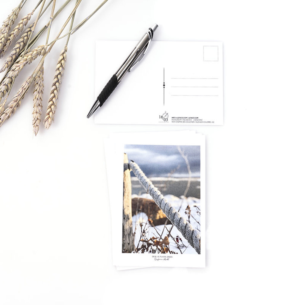 Le 1603 Carte postale - Cordage - vertical