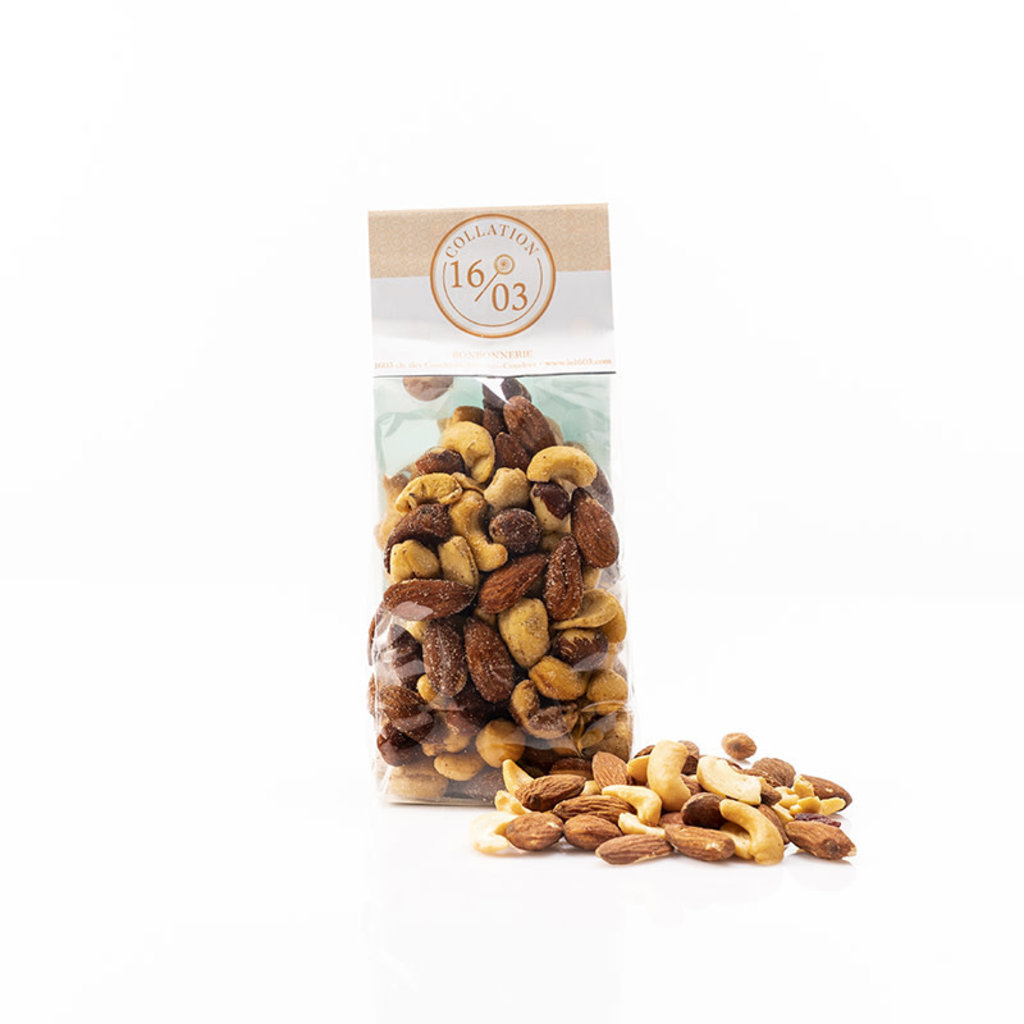 Le 1603 Sea Salted Deluxe Nuts Mix 200g