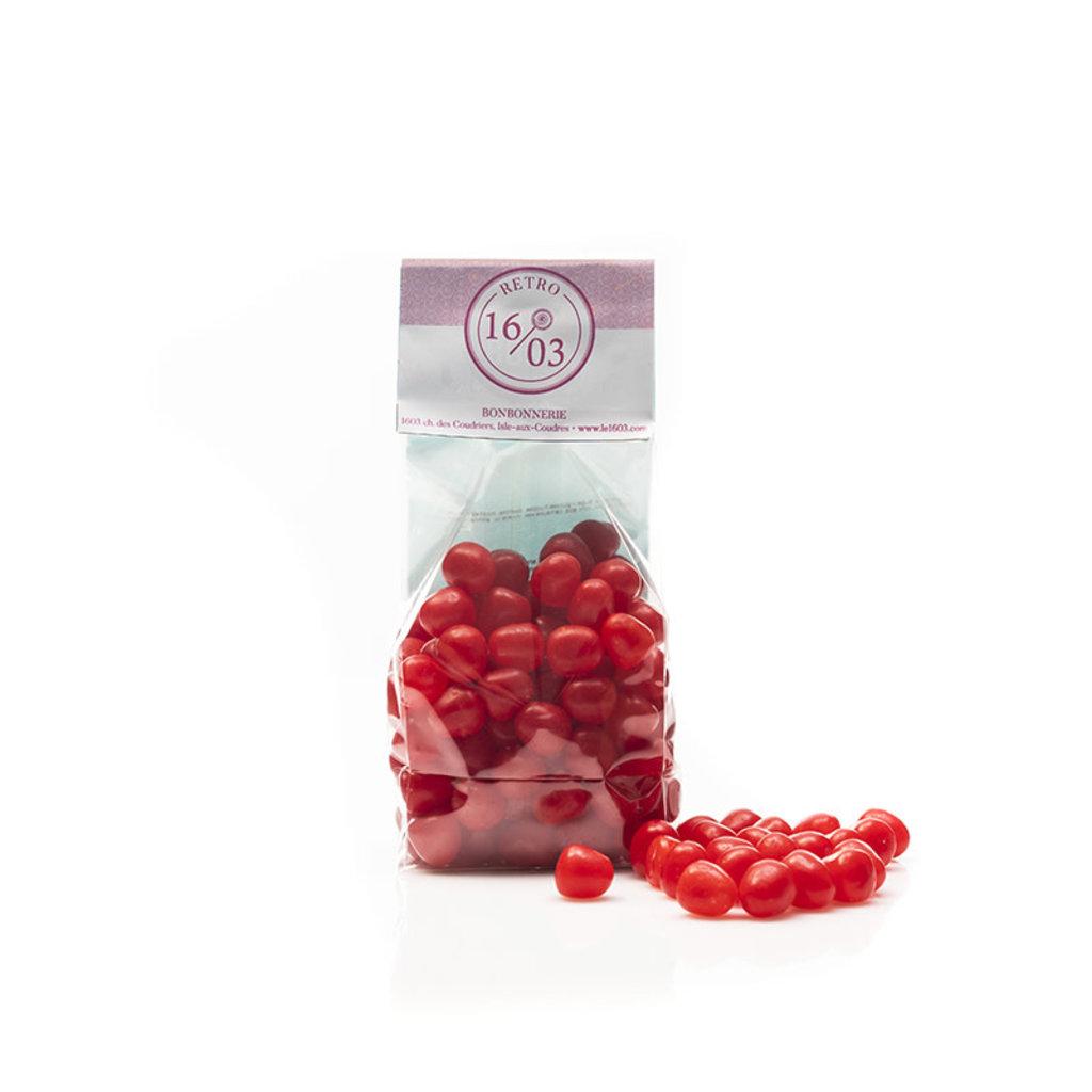 Le 1603 Cherry Sour Balls 275g