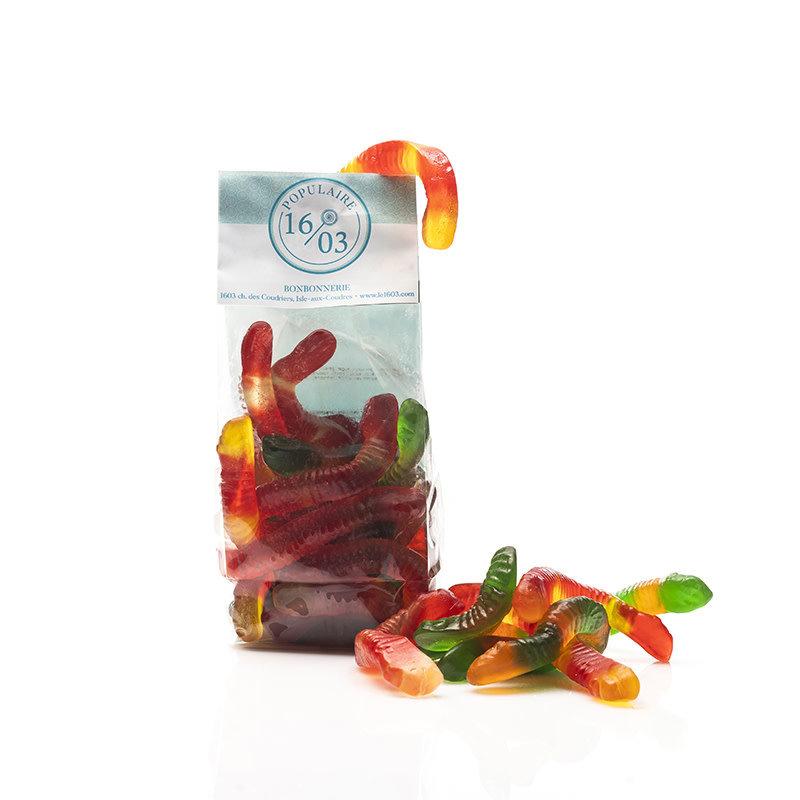 Le 1603 Gummy Worms 250g