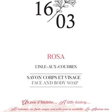 Le 1603 Savon corps et visage ROSA 70g