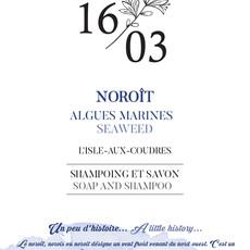 Le 1603 Savon et Shampoing NOROIT 70g