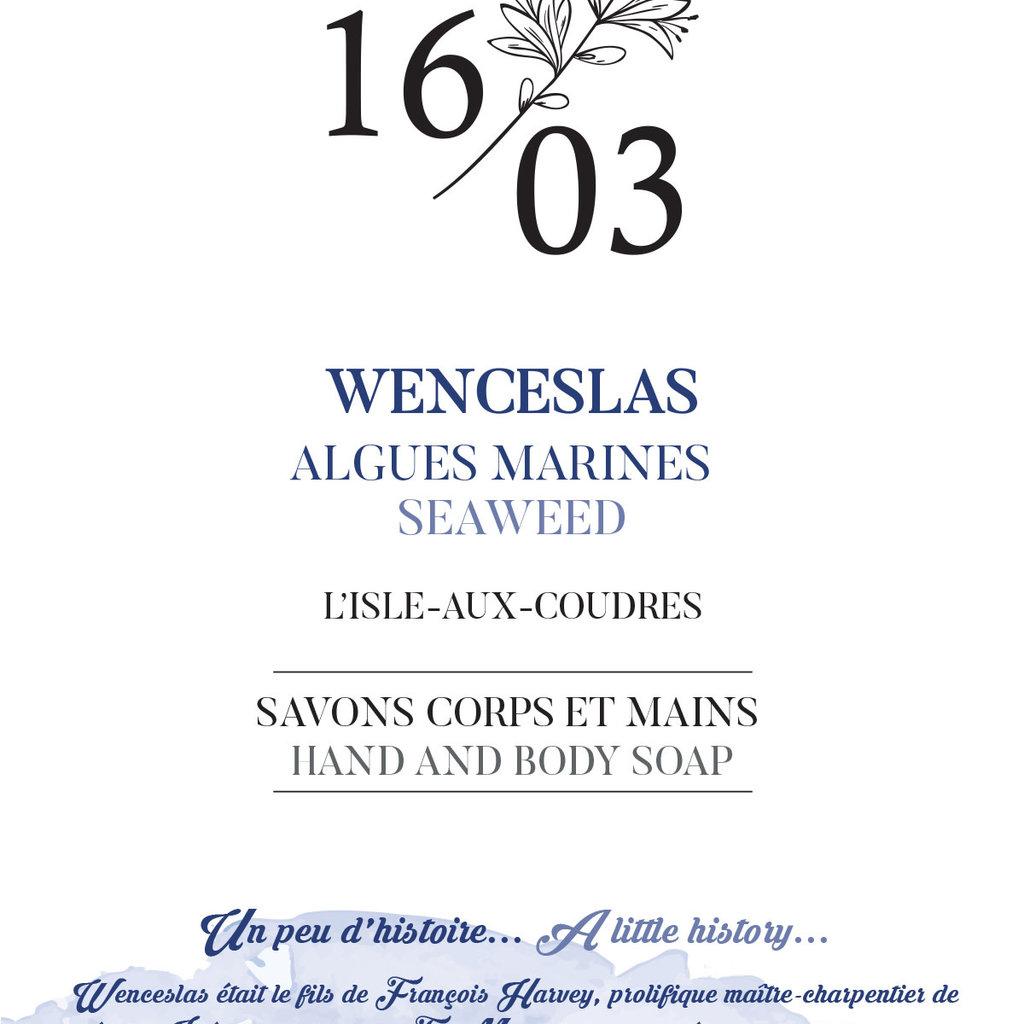 Le 1603 Savon corps et mains WENCESLAS 70g
