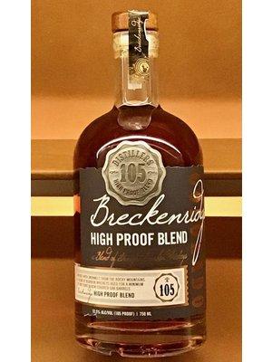 Spirits BRECKENRIDGE HIGH PROOF BLEND BOURBON WHISKEY (105 PROOF)