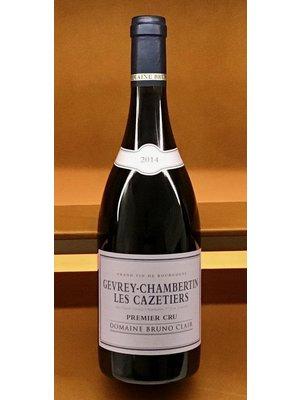 Wine BRUNO CLAIR GEVREY CHAMBERTIN 'CAZETIERS' 1ER CRU 2014