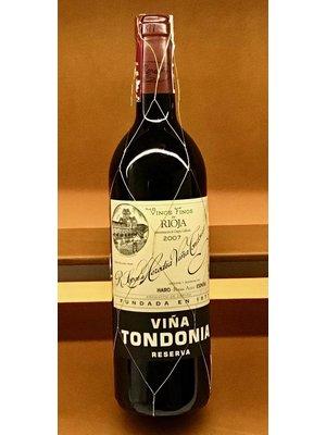Wine LOPEZ DE HEREDIA 'VINA TONDONIA' RESERVA 2008