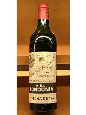 Wine LOPEZ DE HEREDIA VINA TONDONIA' GRAN RESERVA 1942