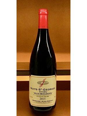 Wine JEAN GRIVOT NUITS SAINT GEORGES 1ER CRU AUX BOUDOTS 2015
