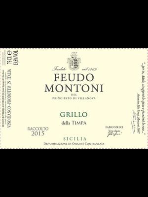 Wine FEUDO MONTONI GRILLO DELLA TIMPA 2019