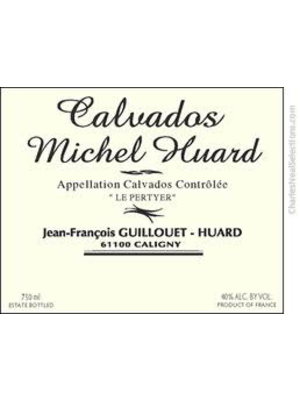 Spirits MICHEL HUARD 'LE PERTYER' CALVADOS 1989