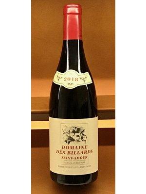 "Wine DOMAINE DES BILLARDS ""SAINT-AMOUR"" 2018"
