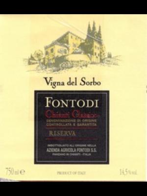 Wine FONTODI CHIANTI CLASSICO RISERVA VIGNA DEL SORBO 2004 1.5L