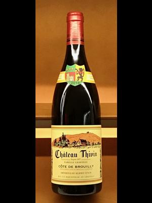 Wine CHATEAU THIVIN COTE DE BROUILLY 2019