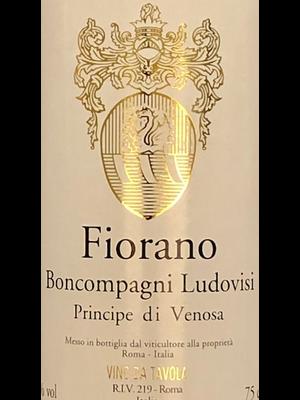 Wine TENUTA DI FIORANO BLANCO 1994