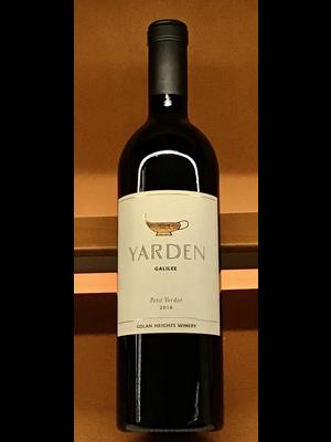 Wine YARDEN WINERY 'GALILEE' PETIT VERDOT 2016
