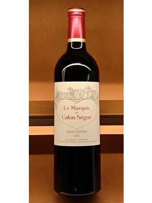 Wine CHATEAU CALON-SEGUR 'MARQUIS DE CALON' 2016