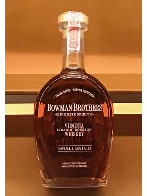 Spirits BOWMAN SMALL BATCH VIRGINIA BOURBON