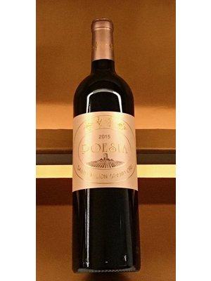 Wine CHATEAU POESIA SAINT-EMILION GRAND CRU 2015