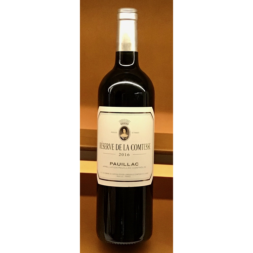 Wine CHATEAU PICHON LONGUEVILLE 'RESERVE DE LA COMTESSE' LALANDE 2016
