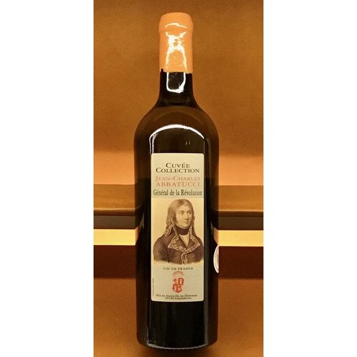 Wine ABBATUCCI CUVEE COLLECTION 'GENERAL DE LA REVOLUTION : JEAN-CHARLES ABBATUCCI' BLANC NV