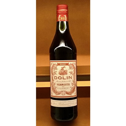 Fortified Wine DOLIN VERMOUTH DE CHAMBERY ROUGE