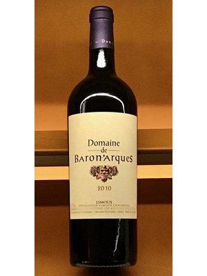 Wine DOMAINE DE BARON'ARQUES LIMOUX ROUGE 2010