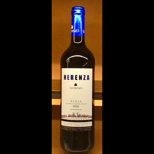 Wine ELVI HERENZA RIOJA 2019