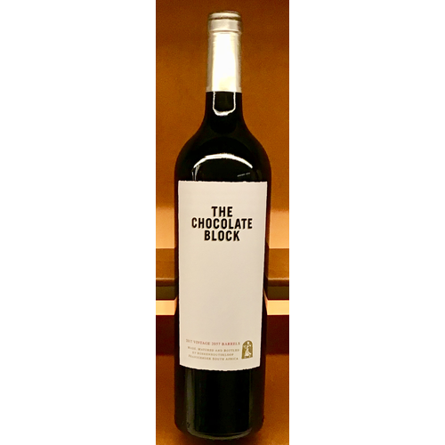 Wine BOEKENHOUTSKLOOF 'CHOCOLATE BLOCK' 2019
