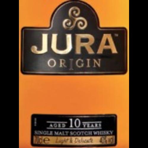 Spirits JURA SINGLE MALT SCOTCH WHISKY10YR