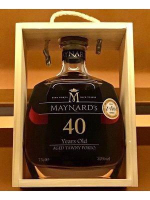 Fortified Wine MAYNARD 40 YRS OLD TAWNY PORT NV
