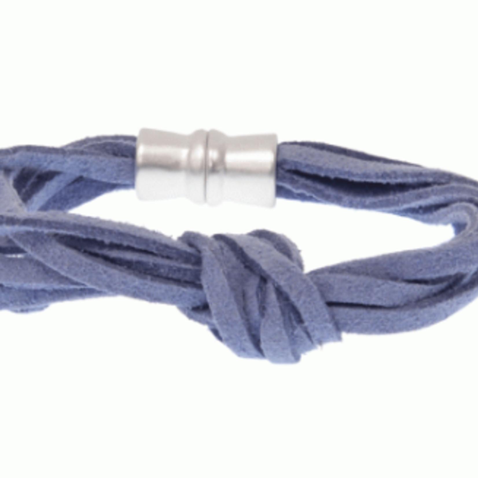 Joy Susan Joy Susan Suede Knot Bracelet