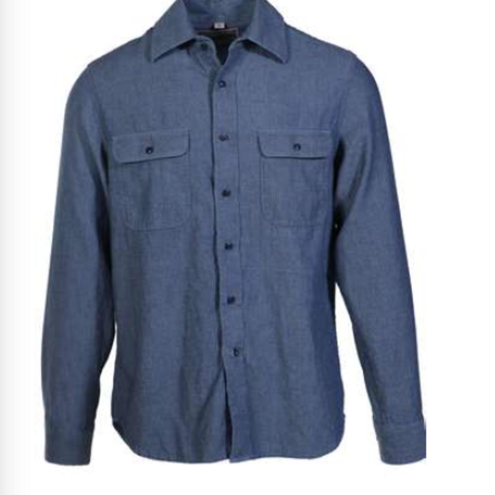 Schott Schott Washed Cotton Work Shirt