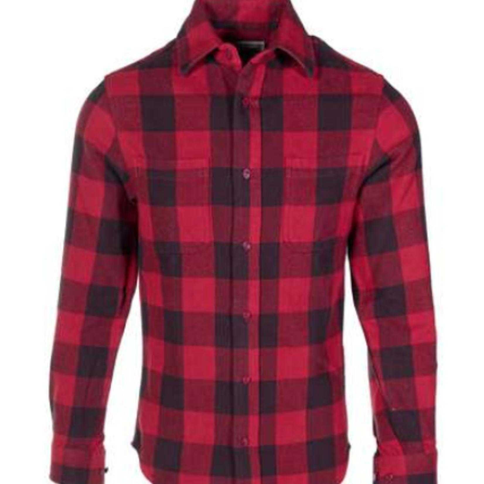 Schott Schott Plaid Cotton Flannel Shirt